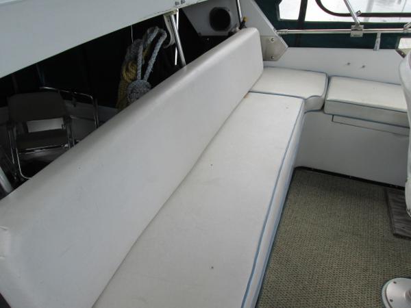 Rear Seat on Bridge