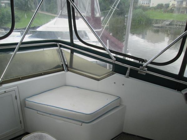 Front Seat on Bridge