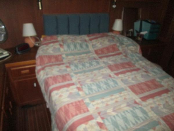 Aft Stateroom Bed