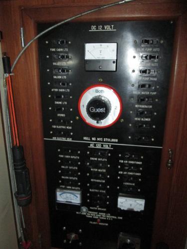 Full Breaker Panel