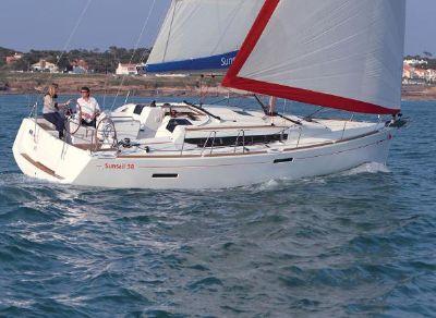 Sunsail 38 3-Cabin Manufacturer Provided Image