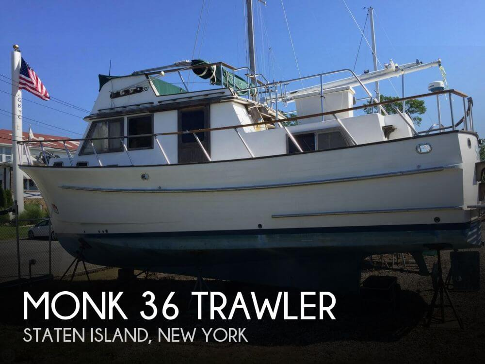 Monk 36 Trawler 1986 Monk 36 Trawler for sale in Staten Island, NY