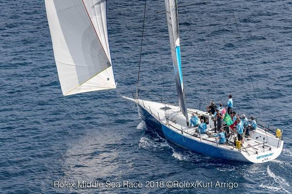 Farr 52 One Design Farr 52 Optimum Sailing Rolex Middle Sea Race
