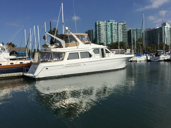 Navigator Classic flybridge motor yacht Kai*