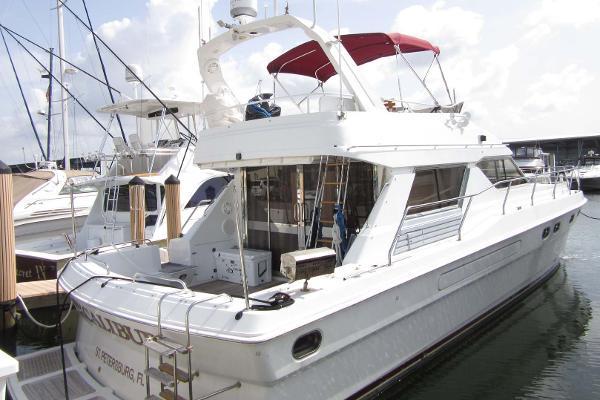 Princess Flybridge Starboard Profile