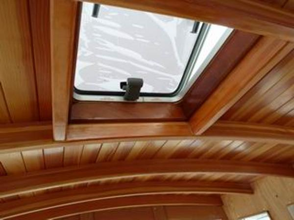 Beautiful Varnished interior