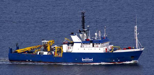 Custom Survey Support Vessel