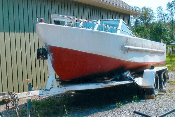 Custom 17' Workboat