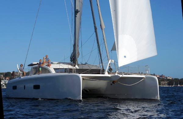 Outremer 5X Sailing