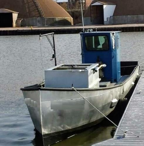 Commercial Trapnetter/Minnow Boat