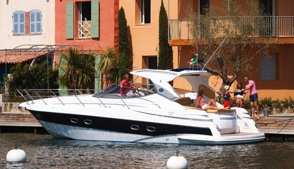 Sessa C42 Manufacturer Provided Image: Moored