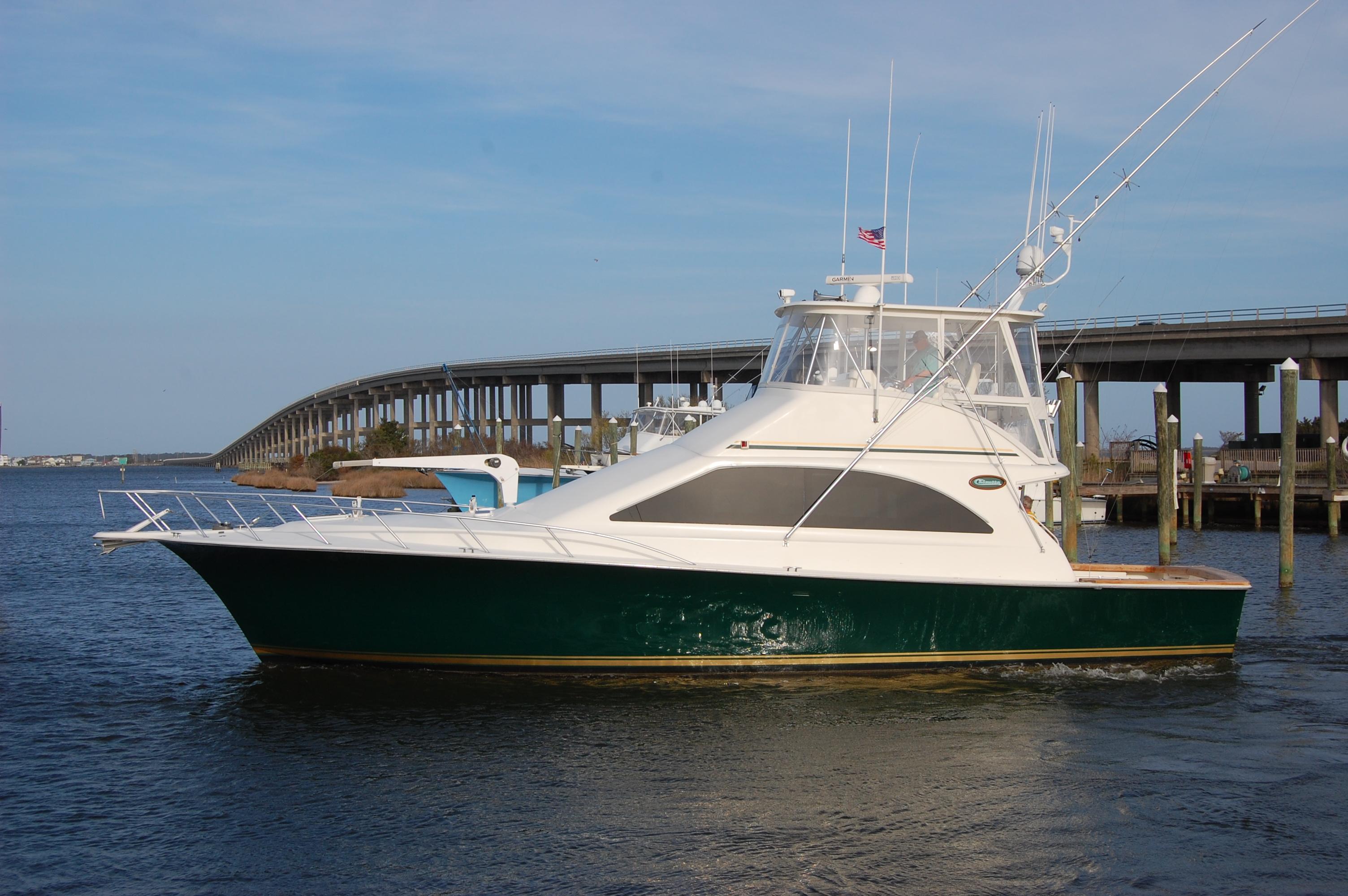 Ocean Yachts 48 Super Sport 2001 Ocean Yacht 48, port beam