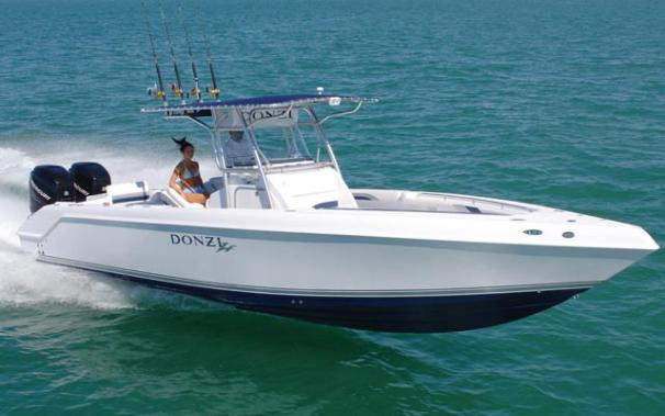 2007 donzi 32 zf venice florida for Donzi fishing boats