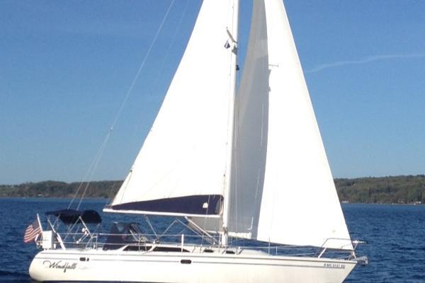 Catalina MkII Starboard profile