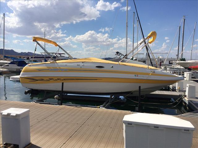 Ebbtide Deck Boat 2400 SS Fun Cruiser