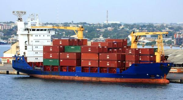 Custom Container Ship