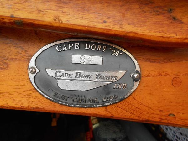 Cape Dory 36' Cape Dory 36  #94 Plackard