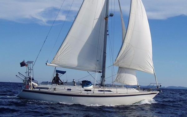 Westerly Oceanlord 41 At sea