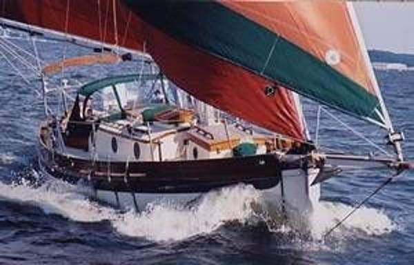 Bristol Channel Cutter Sam L. Morse Beauty under sail