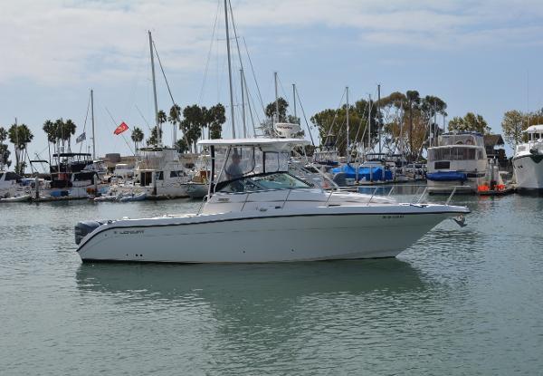 Century 3200 Wa Starboard Profile