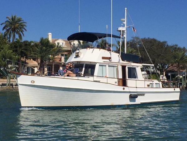 Grand Banks 46 Trawler