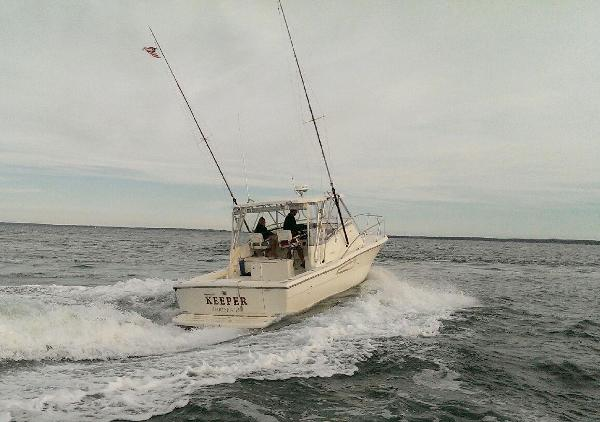 Pursuit 3000 Offshore Underway