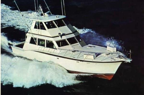 Hatteras 60 Convertible Manufacturer Photo