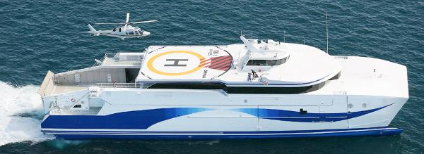 Custom Ultra Fast ROPAX Catamaran Ferry