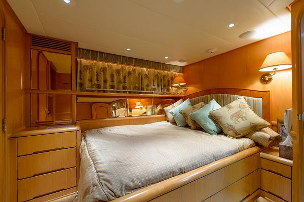 Starboard Forward Guest Stateroom