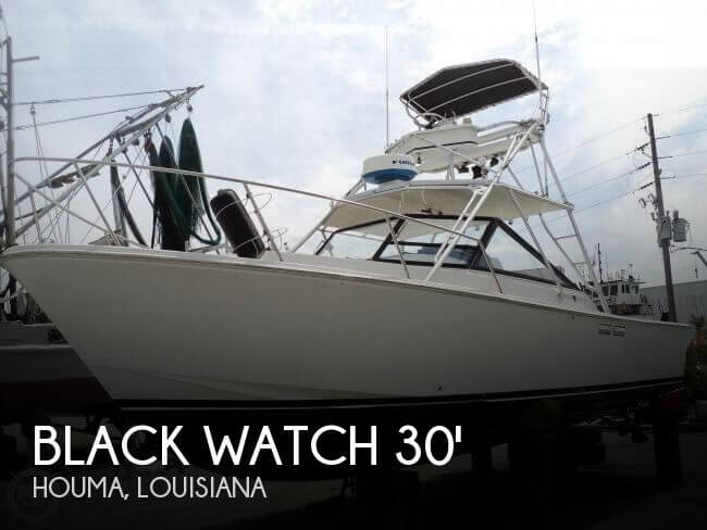 Black Watch 30 EXPRESS 1989 Black Watch 30 Express for sale in Houma, LA