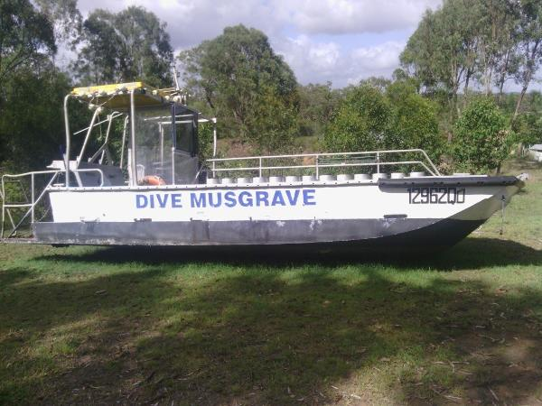 Custom Dive Vessel