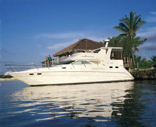 Sea Ray 420 Aft Cabin Manufacturer Provided Image: 420 Aft Cabin