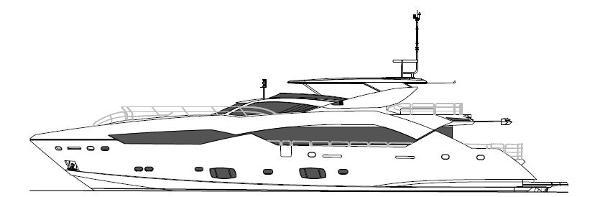 Sunseeker 115 Sport Yacht Profile