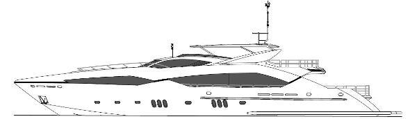 Sunseeker 130 Sport Yacht Profile