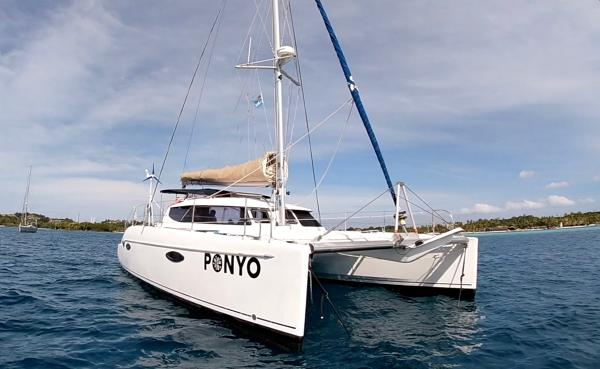 Fountaine Pajot Lavezzi Fountaine Pajot Lavezzi 40 'Ponyo' in Fiji. September 2019