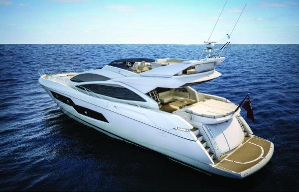 Sunseeker 80 Sport Yacht Stern