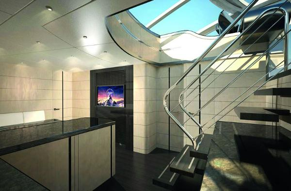 Sunseeker 80 Sport Yacht Galley