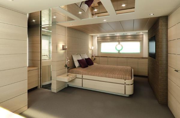 Sunseeker 80 Sport Yacht Cabin