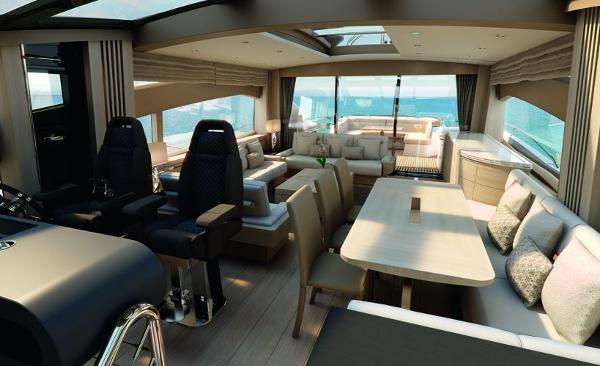 Sunseeker 80 Sport Yacht Interior