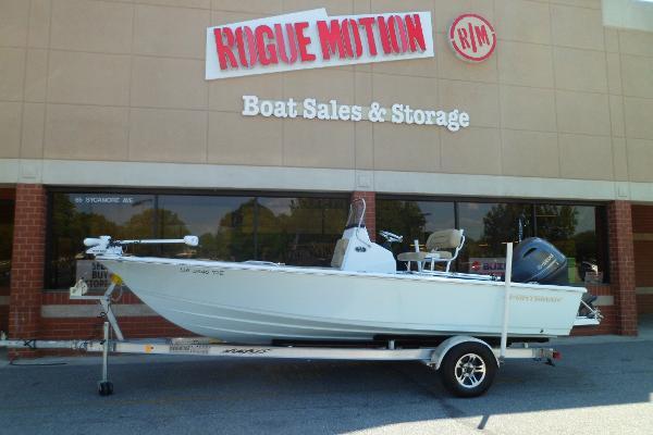 Sportsman Masters 207 Bay Boat PORT ON TRAILER