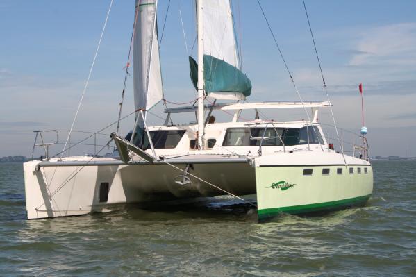 GreenCat 445 Sail