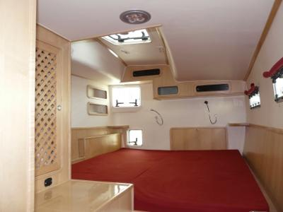 Manufacturer Provided Image: GreenCat 445 masterbedroom