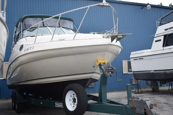 Rinker 270 Fiesta Vee On The Trailer