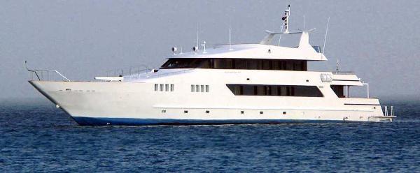 Custom Steel Motor Yacht Tri Deck Motor Yacht