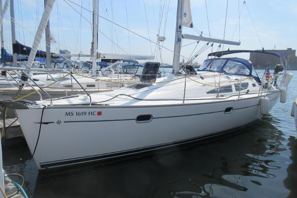 Jeanneau Sun Odyssey 35 Jeanneau 35 Lorelei Hull profile port