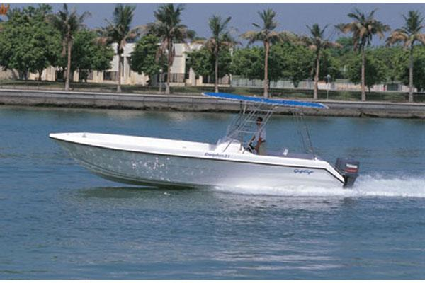 Gulf Craft Dolphin 31 Manufacturer Provided Image