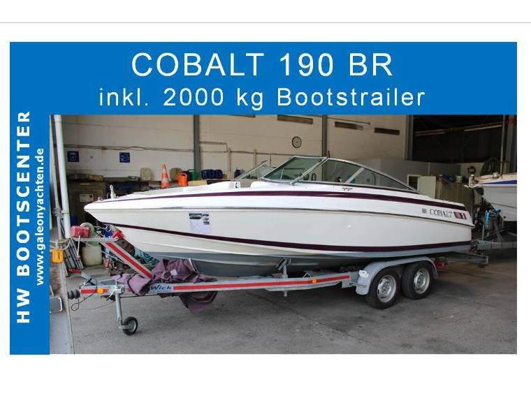 Cobalt Cobalt Boats USA  190 BR mit 2000 kg Trailer