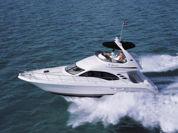 Sea Ray 44 Sedan Bridge Manufacturer Provided Image