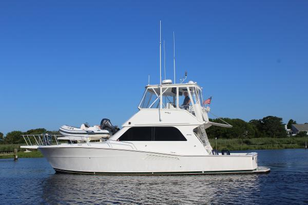 Viking 43 Convertible Port Side