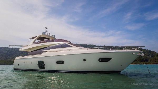 Ferretti Yachts 720 Ferretti 720